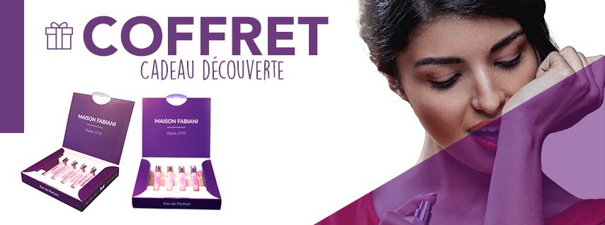 Coffret Cadeau 4 Parfums Au Choix